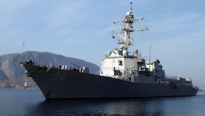 Den amerikanske destroyeren USS Bainbridge