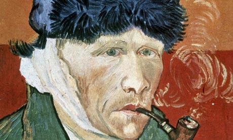 Vincent Van Gogh: Selvportrett med avkuttet øre