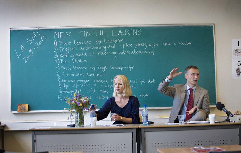 Anniken Huitfeldt burde rødme i godt selskap, men gjør det neppe. Foto: Håvard Bjelland