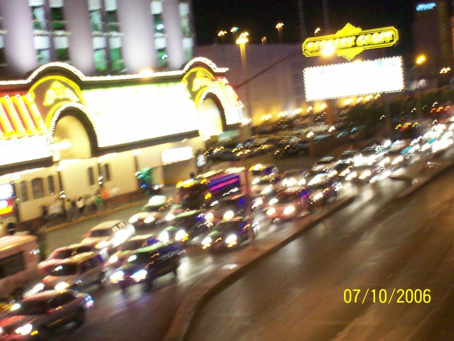 Vil den autonome Priusen klare trafikken en lørdag kveld på the Strip i Las Vegas?