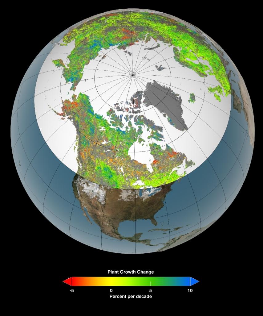 Kilde: NASA's Goddard Space Flight Center Scientific Visualization Studio.Klikk på bildet for å se et større bilde